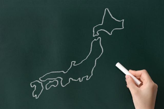 京都スポーツ整体院 出張 日本地図